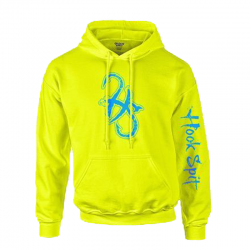 Men's Safety Green/Blue HS Hoodie
