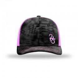 Hook Spit Fishing Gear - Snap Back - Kryptic/Pink
